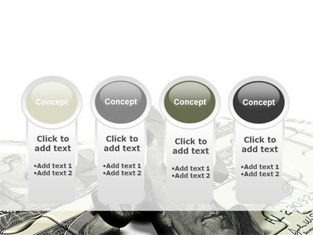 Dollar Bill PowerPoint Template Slide 5