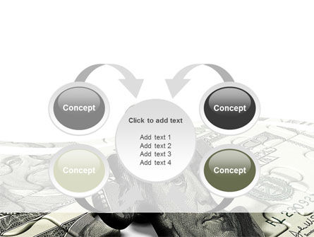 Dollar Bill PowerPoint Template Slide 6