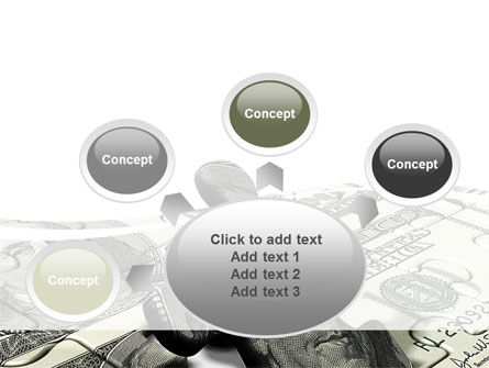 Dollar Bill PowerPoint Template Slide 7