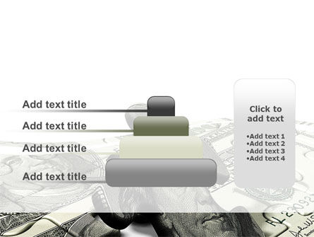 Dollar Bill PowerPoint Template Slide 8