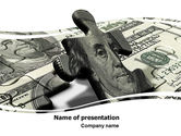 Financial/Accounting: Dollar Bill PowerPoint Template #05742