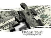 Dollar Bill PowerPoint Template#20