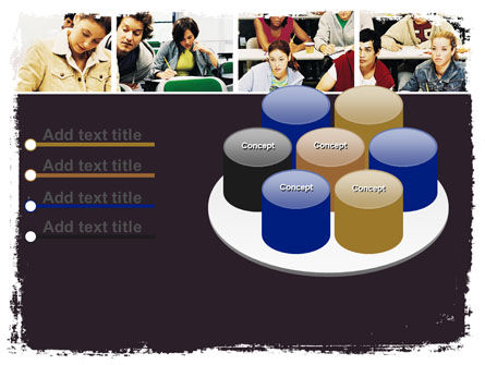 University Study PowerPoint Template Slide 12