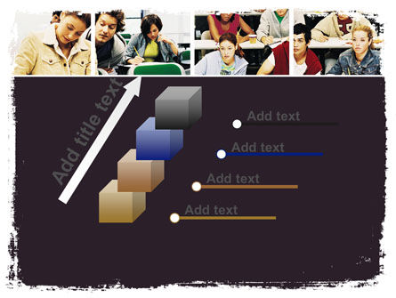 University Study PowerPoint Template Slide 14