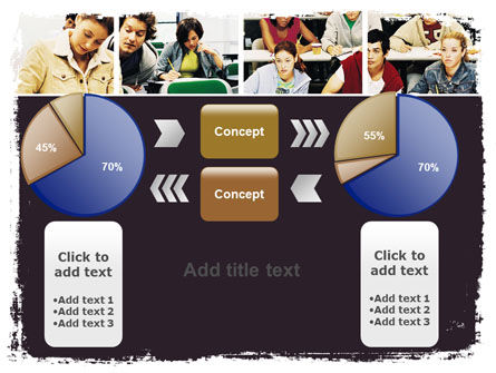 University Study PowerPoint Template Slide 16