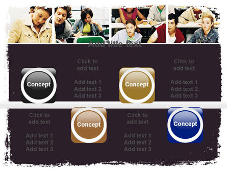 University Study PowerPoint Template Slide 18