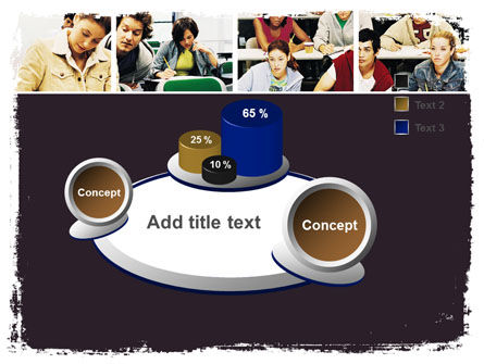 University Study PowerPoint Template Slide 6