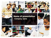 Education & Training: University Study PowerPoint Template #05743