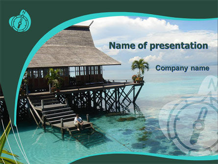 Careers/Industry: Lagoon PowerPoint Template #05746