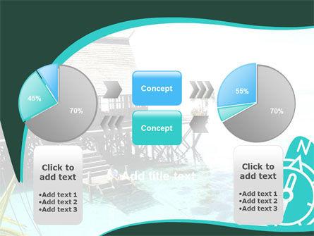 Lagoon PowerPoint Template Slide 11