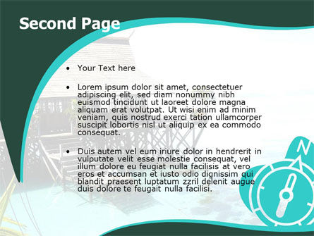 Lagoon PowerPoint Template Slide 2