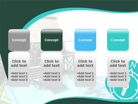 Lagoon PowerPoint Template Slide 5