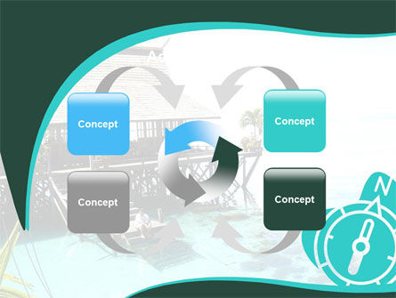 Lagoon PowerPoint Template Slide 6