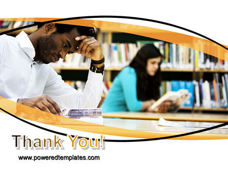 Reading Hall PowerPoint Template Slide 20