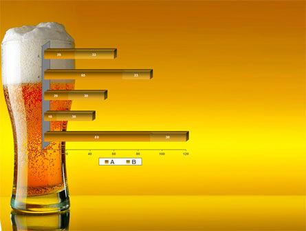 Goblet Of Beer Foaming PowerPoint Template Slide 11