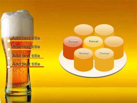 Goblet Of Beer Foaming PowerPoint Template Slide 12