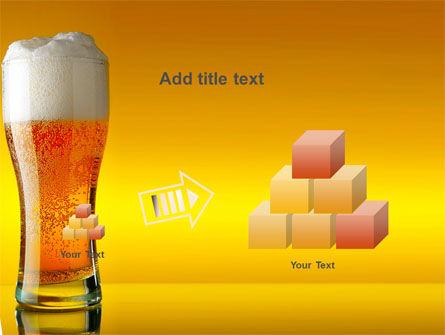 Goblet Of Beer Foaming PowerPoint Template Slide 13