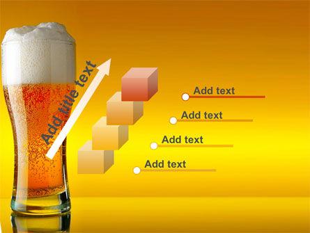Goblet Of Beer Foaming PowerPoint Template Slide 14