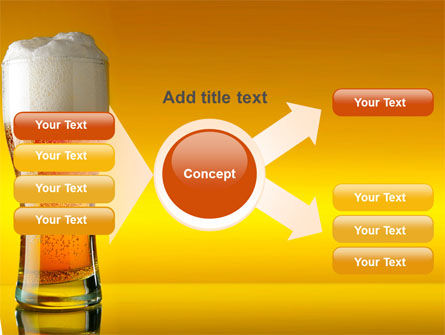 Goblet Of Beer Foaming PowerPoint Template Slide 15