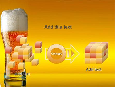 Goblet Of Beer Foaming PowerPoint Template Slide 17