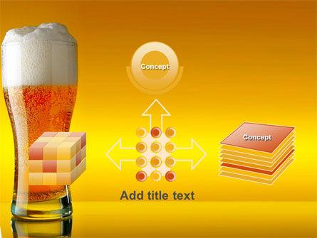 Goblet Of Beer Foaming PowerPoint Template Slide 19