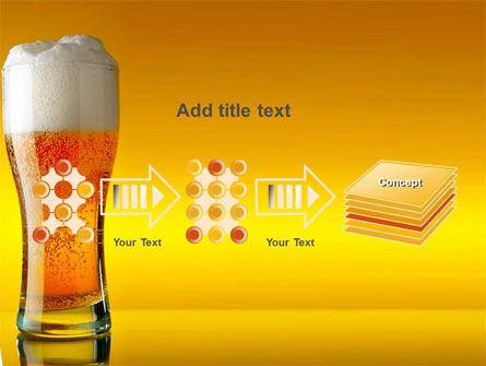 Goblet Of Beer Foaming PowerPoint Template Slide 9