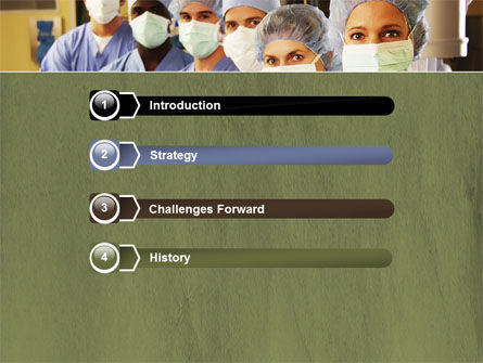 Medical Personnel In Hospital PowerPoint Template, Slide 3, 05749, Medical — PoweredTemplate.com