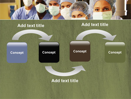 Medical Personnel In Hospital PowerPoint Template, Slide 4, 05749, Medical — PoweredTemplate.com