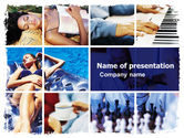 Health and Recreation: Relaxing Season PowerPoint Template #05751