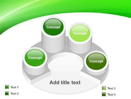 Emerald Green PowerPoint Template Slide 12