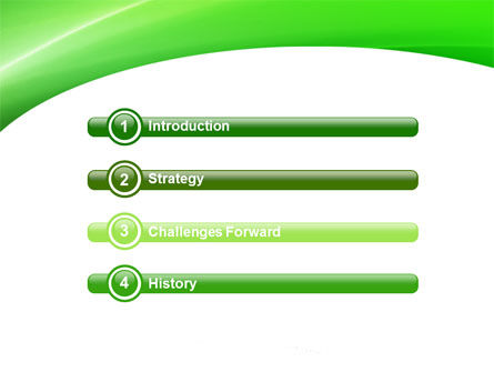 Emerald Green PowerPoint Template, Slide 3, 05753, Abstract/Textures — PoweredTemplate.com
