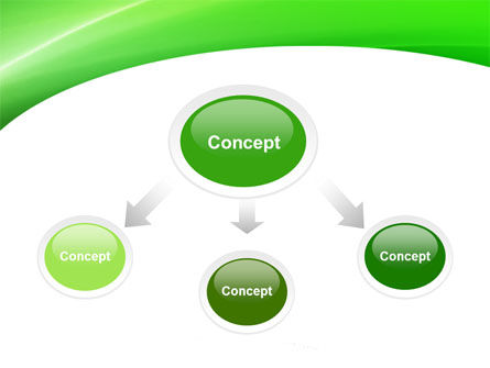 Emerald Green PowerPoint Template, Slide 4, 05753, Abstract/Textures — PoweredTemplate.com