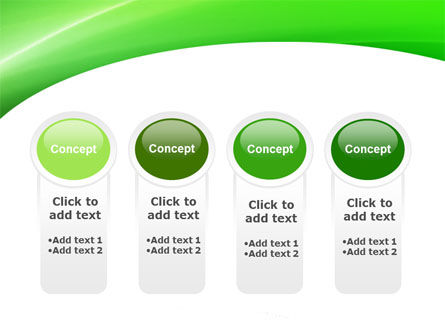 Emerald Green PowerPoint Template Slide 5