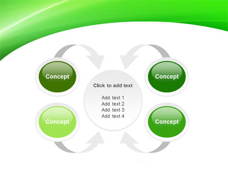 Emerald Green PowerPoint Template Slide 6