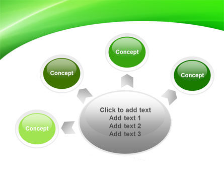 Emerald Green PowerPoint Template Slide 7