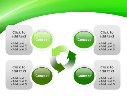 Emerald Green PowerPoint Template Slide 9