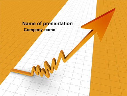 Consulting: Groei Percentage PowerPoint Template #05754