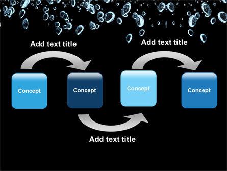 Bubbles In Dark Liquid PowerPoint Template, Slide 4, 05756, Nature & Environment — PoweredTemplate.com