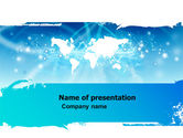 Global: 世界の視点 - 無料PowerPointテンプレート #05758