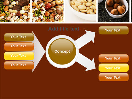 Nuts PowerPoint Template Slide 15