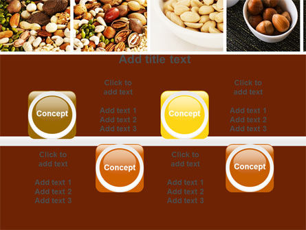 Nuts PowerPoint Template Slide 18