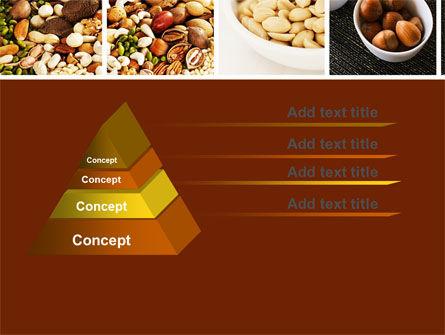 Nuts PowerPoint Template, Slide 4, 05759, Food & Beverage — PoweredTemplate.com