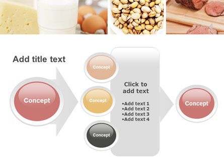Food Protein PowerPoint Template Slide 17