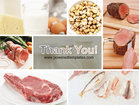 Food Protein PowerPoint Template Slide 20