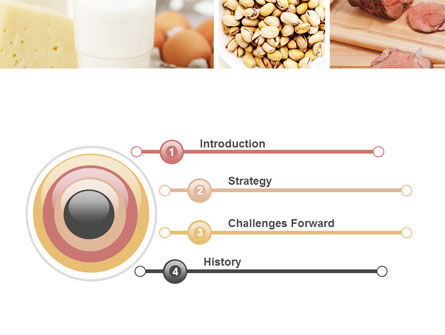 Food Protein PowerPoint Template, Slide 3, 05761, Careers/Industry — PoweredTemplate.com