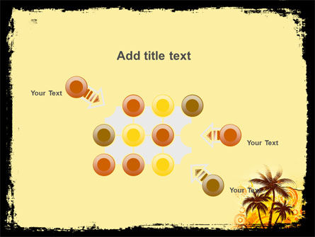 Palm Trees PowerPoint Template Slide 10