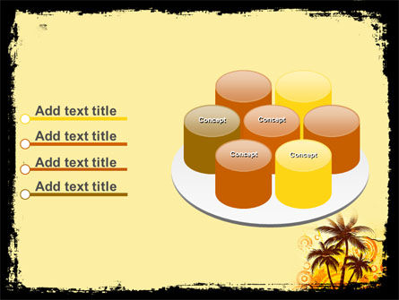 Palm Trees PowerPoint Template Slide 12