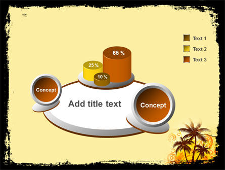 Palm Trees PowerPoint Template Slide 6