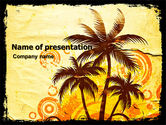 Careers/Industry: Templat PowerPoint Pohon-pohon Palem #05762