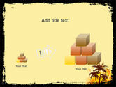 Palm Trees PowerPoint Template#13
